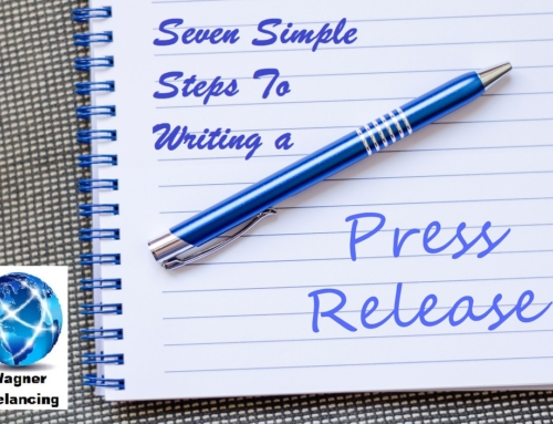 Seven Simple Steps to Writing a Press Release